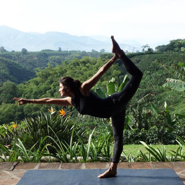 Tropical yoga in Latin America